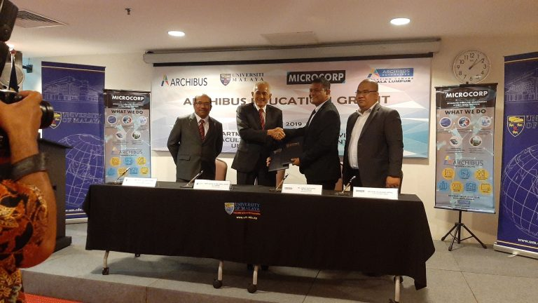 ARCHIBUS Education Grant for Universiti Malaya